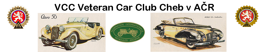 VCC Veteran Car Club Cheb v AČR
